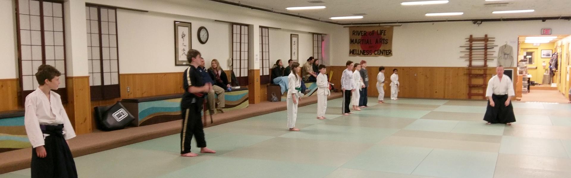 River of Life Martial Arts Center - Fort Washington Children's Aikido
